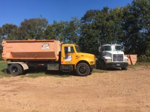 Residential Dumpster Rental in Houston.